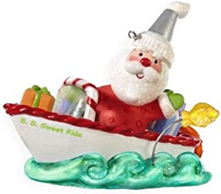 Santa's Sweet Ride 3rd In Series 2009 Hallmark Ornament