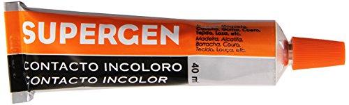 Tubo de adhesivo TESA Supergen Incoloro 40 ml