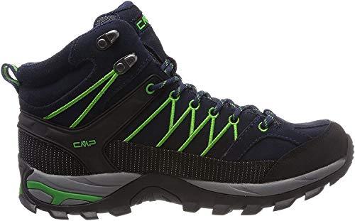 CMP Herren Rigel Mid Shoe Wp Trekking- & Wanderstiefel, Blau (B.Blue-Gecko 51ak), 46 EU