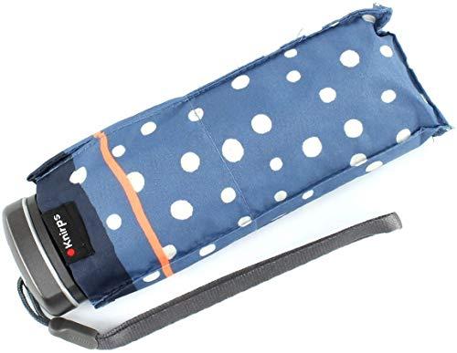 Knirps Compact manuell öffnen/schließen Reise Regenschirm, Flakes Blue (blau) - 815-499-2