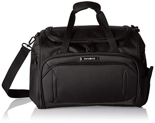 Samsonite Lineate Softside Travel Tote Bag, Obsidian Black