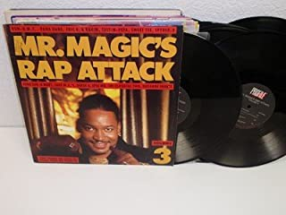 V/A Mr. Magic's Rap Attack 2-LP Profile PRO-1249 Run D.M.C. VG+ Vinyl Album