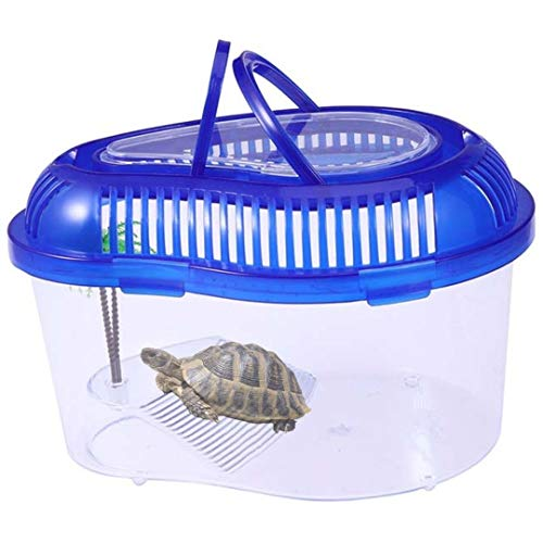 Centa Acuario para Tortugas - Terrario Reptiles - Pecera de plastico - Tortuguera Grande - Terrarios para Reptiles - Acuario Tortugas de Agua