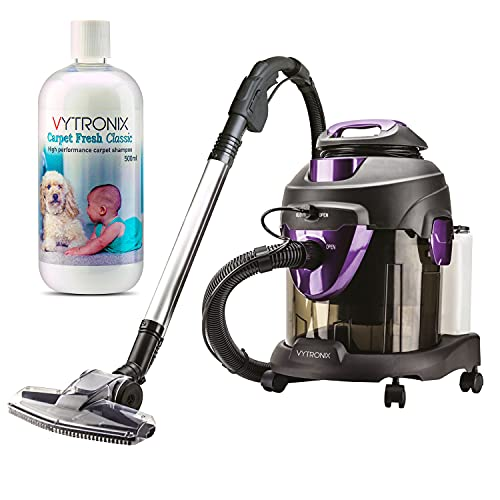 VYTRONIX WSH60 Multifunction 1600W 4 in 1 Wet & Dry Vacuum Cleaner & Carpet Washer With Blower Function