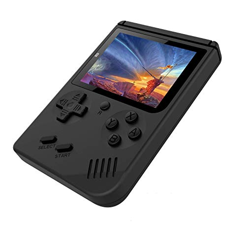 Aerizo FJ45 Latest Handheld SUP Game Box with 400+ Games   Rechargeable Battery   LED Display & Retro Classic Games Functions Compatible for All Kids & People ( Random Colours )