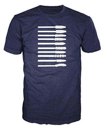 Dalesbury Mascara Borstels Mode Unisex T-Shirt [Kies maat & kleur]