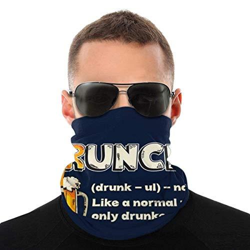 Drunkle Definition Variety Head Scarf Scarf Magic Headwear Neck Gaiter Face Bandana Scarf