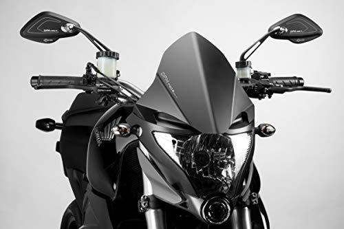 De Pretto Moto (DPM Race) - Kompatibel mit CB1000R 2008/16 - Windschutzscheibe 'Warrior' (R-0670) - Aluminium Windschild Windabweiser Scheibe - Hardware-Bolzen Enthalten - 100% Made in Italy