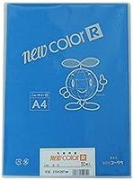 リンテック 色画用紙 ゴークラニューカラーR A4 あお50枚NO239