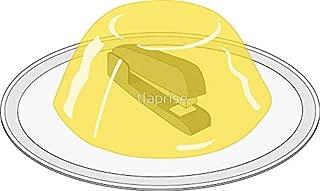 LA STICKERS Stapler in Jello The Office - Sticker Graphic - Auto, Wall, Laptop, Cell, Truck Sticker for Windows, Cars, Trucks