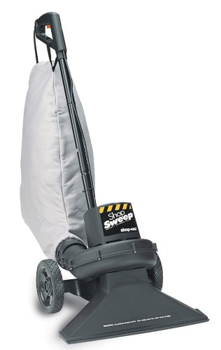 Shop-Vac 4050010 Shop-Vac Indoor/Outdoor 1.23 Peak HP Large Debris Sweeper, Dry Pick Up Only