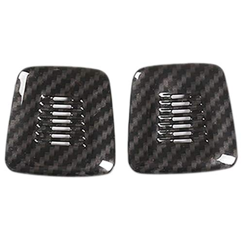 wuwu 2 unids Coche de Techo de Techo Cubierta de micrófono Ajuste Ajuste para-BMW X1 E84 F48 x3 F25 X5 X6 F15 G05 GT G33 G11 G12 F20 X2 F47 2019 (Color Name : Black)