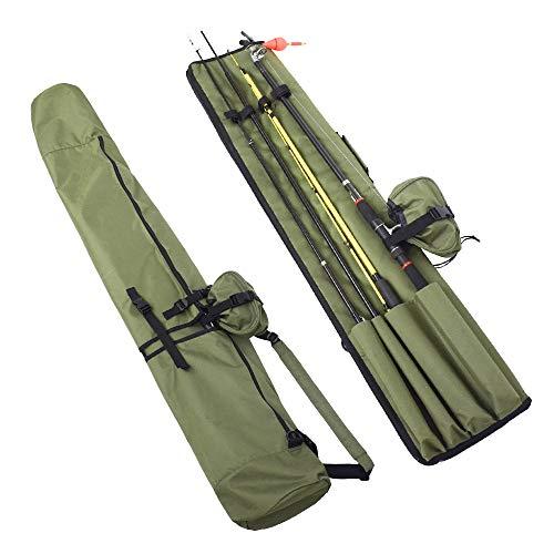 BestCool Bolsa de aparejos de pesca, portátil, bolsa de doble capa, bolsa...