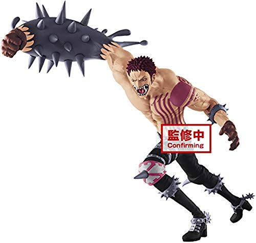 One Piece Battle Record Posing Series PVC Statue Charlotte Katakuri, 27 cm