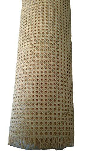 Restauraciones Vintage Rejilla Mimbre para reparación de sillas Calidad A, la máxima Calidad y resitencia en Rejilla Vegetal (51 x 60 cm)