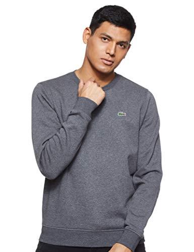 Lacoste Sport Herren Sh7613 Sweatshirt, Grau (Bitume), X-Large (Herstellergröße: 6)