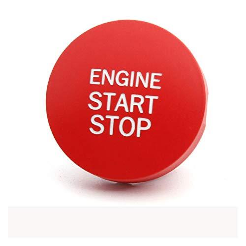 Crying Coche Interior Accesorios Estilo Start Start Stop Engine Cubierta de Encendido Botón Auto Botón Ajuste para Subaru BRZ Impreza XV Forester Outback (Color Name : Model B)