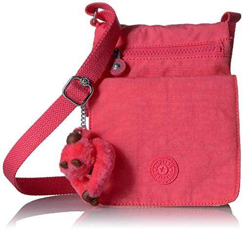 Kipling Women's El Dorado Crossbody Bag, Grapefruit Orange Tonal