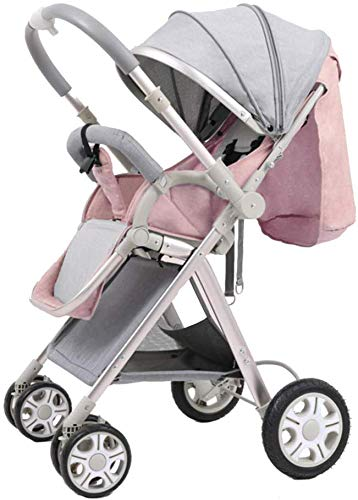 Buy Discount Baby carriage Pushchair Lightweight Baby Stroller from Birth to 25 Kg Pram Easy One Han...