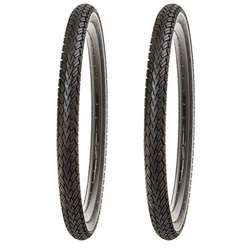 Kujo 20 Zoll Reifen Set 20x1.75 mit Pannenschutz und Reflexstreifen