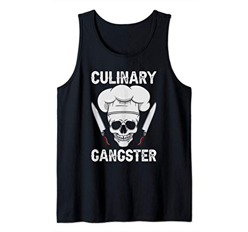 Kulinarischer Gangster - Hobbykoch Chefkoch - Koch Tank Top