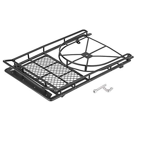 Dilwe Metal Equipaje de Portaequipajes Portador para D90 / SCX10 Jeep RC Crawler Car Accesorio de Veh¨ªculo Modelo