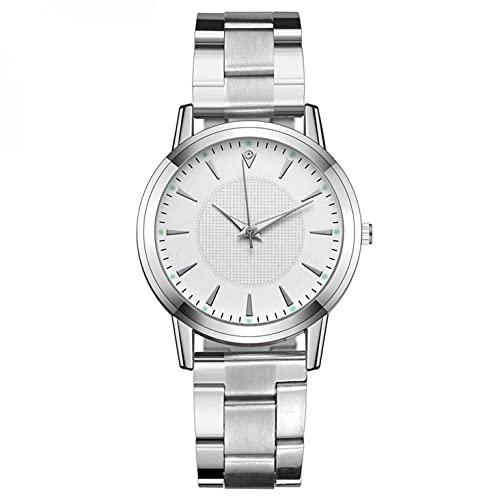 Ainiyo Uhr Damen Armbanduhr Damenuhren Quarzuhr Watch für Frauen Damen, Luxusuhren Quarzuhr Edelstahl Zifferblatt Casual Armbanduhr Mädchenuhr Damenuhr Weiß