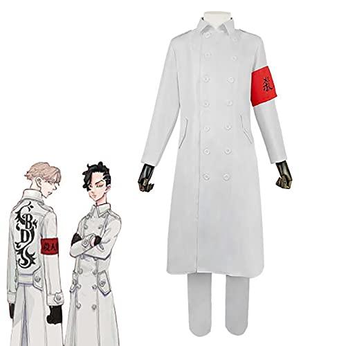 SHIXUE Japanese Anime Tokyo Revengers Cosplay Costumes, Disfraces para Adultos, Adecuada para Ocasiones Especiales, Disfraces De Halloween