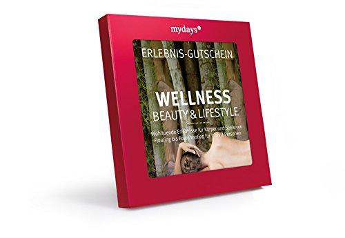 mydays Erlebnis-Gutschein 'Wellness, Beauty & Lifestyle' | 1 bis 2 Personen, 70 Erlebnisse, 520 Orte | Wellness Geschenk, Weihnachten