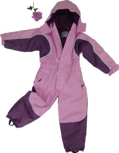 Maylynn Kuscheliger Schneeanzug Skianzug rosa atmungsaktiv und wasserdicht 5000mm, Größe:116