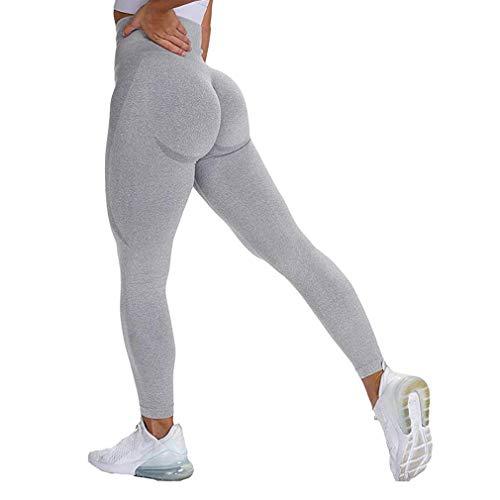 Generise Mujer Elástico Basculador Pantalones, Chandal Fondos Deportes Pantalones Deportivos, Rutina De...