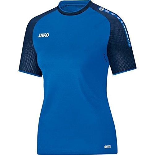 JAKO Champ T-Shirt pour Femme, Femme, Champ, Royal/Marine