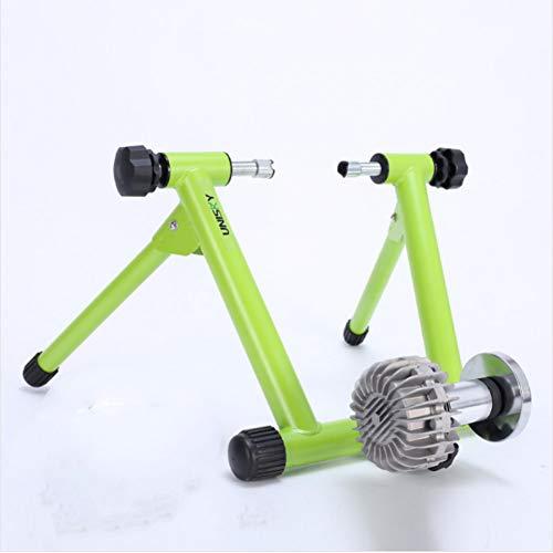 TSXXQJ Rodillos de Bicicleta 330LBS Entrenador de Bicicleta de Interior Resistencia a...