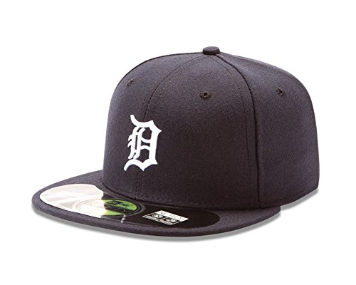 New Era MLB Home Authentic Collection on Field 59FIFTY Casquette ajustée, Homme, ACPERF DETTIG HM, Detroit Tigers, 7 1/8