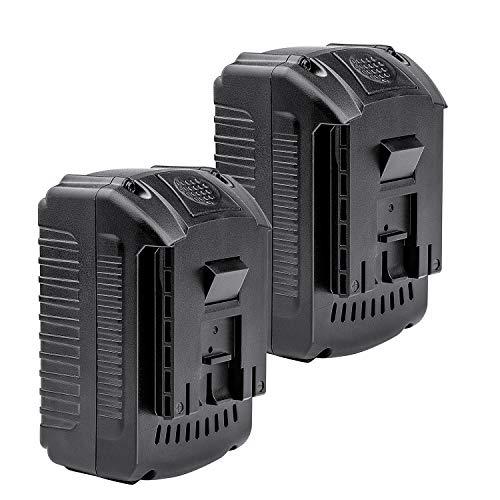 LabTEC 2 paquetes BAT609 18V 5500mAh Batería de litio de repuesto para batería Bosch 18V BAT609 BAT610G BAT618G BAT619 BAT621 BAT620 Batería de herramienta eléctrica inalámbrica