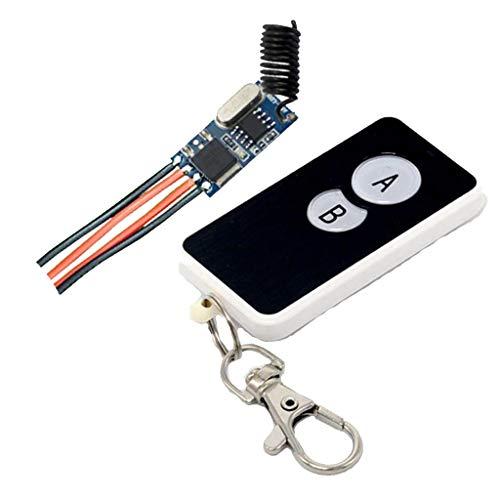 non-brand Sharplace Commutateur Récepteur sans Fil 433 MHz + Télécommande - Panneau 2