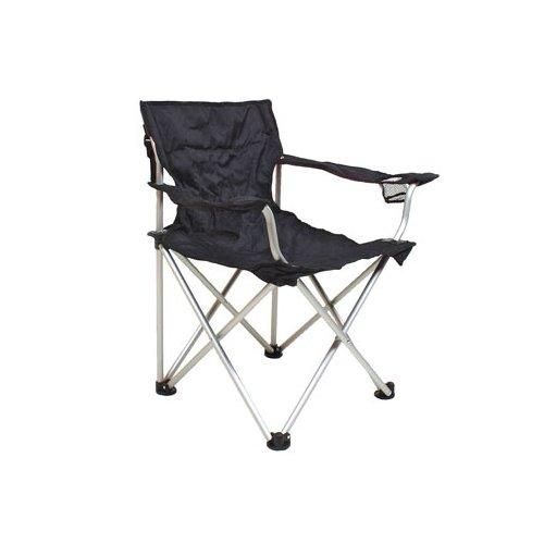 Klappstuhl Campingstuhl Stuhl Relags Travelchair 'Komfort' schwarz