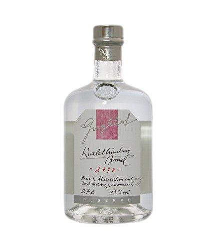 Guglhof: Waldhimbeer Brand - Jahrgangsbrand / 43% Vol. / 0,7 Liter - Flasche