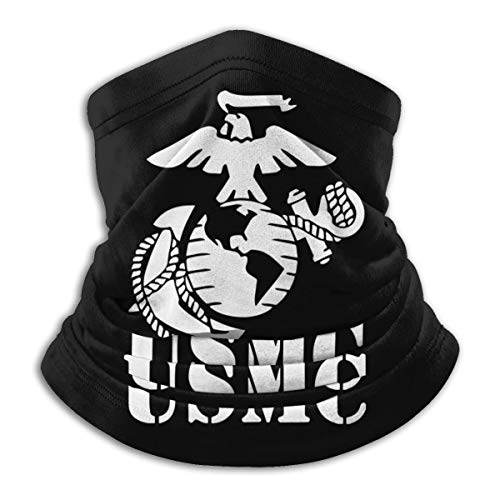 Neck Gaiter Face Mask Eagle Globe Anchor Marine America Corps logo United States Balaclavas Headwear Dustproof Adjustable Neck Warmer for Man Women