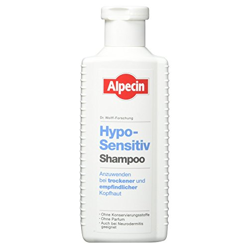 Alpecin Hypo-Sensitiv Shampoo bei trockener und empfindlicher Kopfhaut, 250 ml
