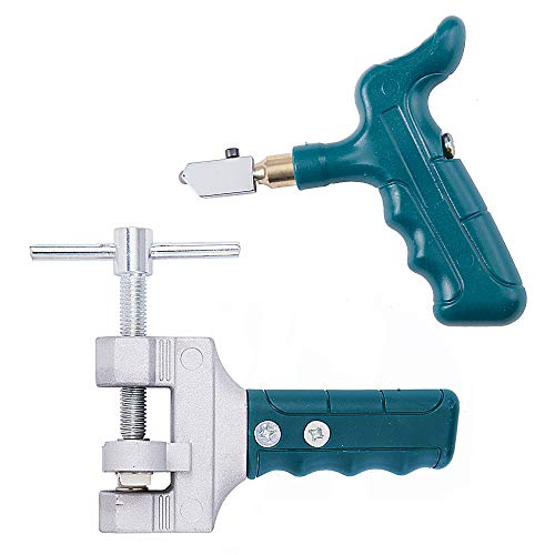 IMT Glass Cutter with Glass Breaking Pliers, Ceramic/Tiles Cutting Tool Kit