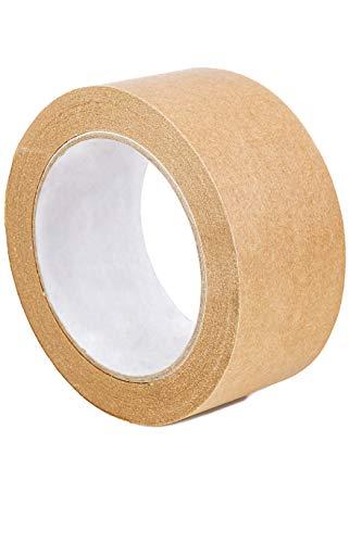 karton-billiger Papierklebeband Papier Klebeband Packband 50mmx50m (6 Rollen)