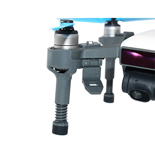 Rantow Portable Quick Release Heighten Landing Gear Leg Extender Stabilizers Gimbal Camera Protector for DJI Spark Drone