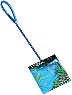 Marina 3-Inch Blue Fine Nylon Net with 10-Inch Handle