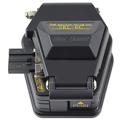 Cuchilla de corte de cable SKL-6C Cortador de herramientas de cuchillo de fibra óptica FTTT Cuchillas de fibra de alta precisión 16 Cuchillas de superficie