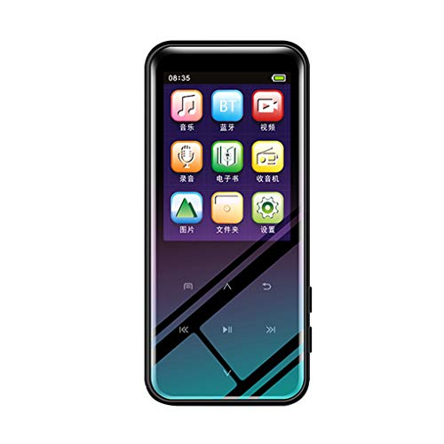 16 Go Bluetooth 4.2 MP3 Lecteur multimédia MP4 Media MP4 Player,Sports Music Recorder Radio FM Sport Musique Président HiFi