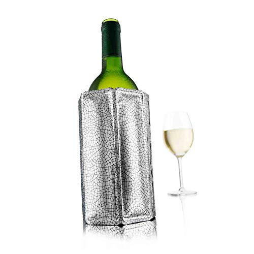 Vacu Vin Rapid Ice Wine Cooler – Silver