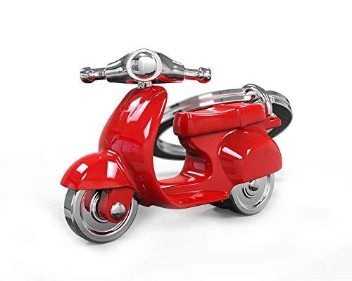 DKring - Llavero para scooter, color rojo