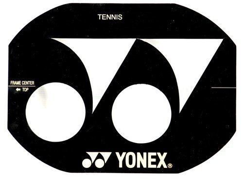 Yonex Stencil Card Tennis Racket B Type 100-130 inch by Yonex