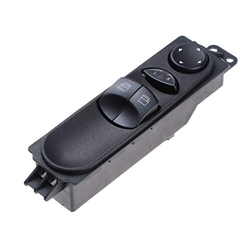 Interruptor de ventana eléctrica delantera izquierda Master Power Ventana del coche Ascensor Control botón para Mercedes Sprinter W906 ajuste para VW Crafter A9065451213 9065451213